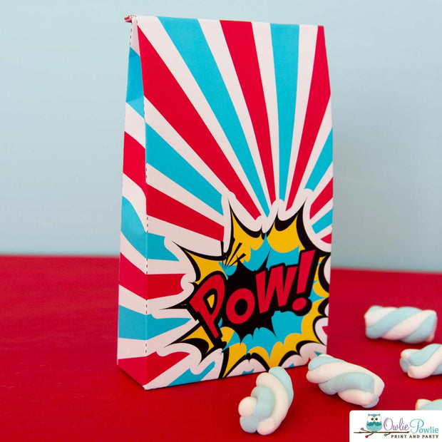 Superhero Birthday Party Package