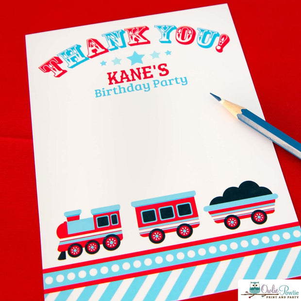 Choo Choo Train Birthday Party Package