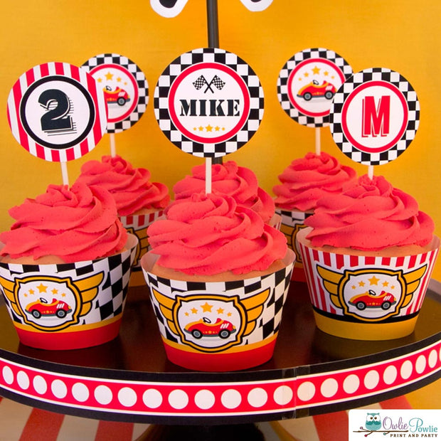 Race Car Birthday Party Package