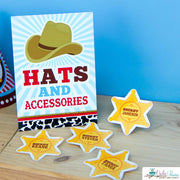 Cowboy Baby Shower Party Package