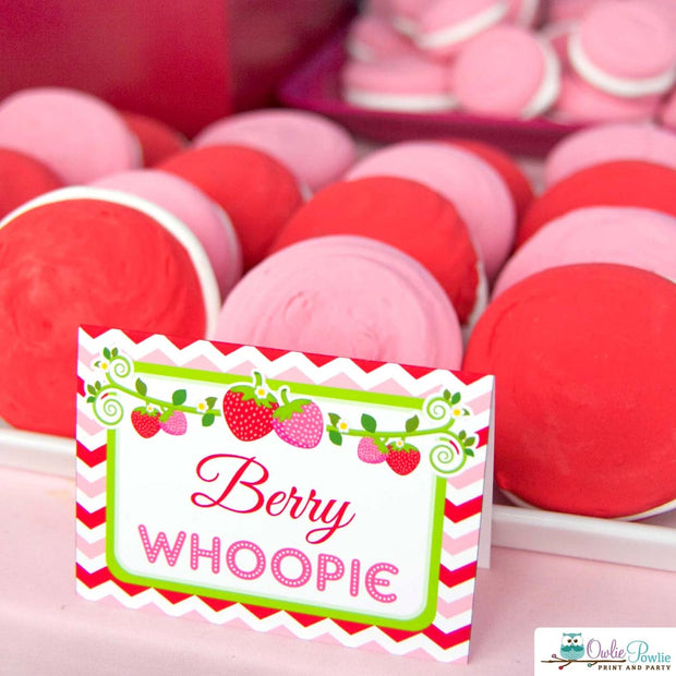 Strawberry Baby Shower Party Package