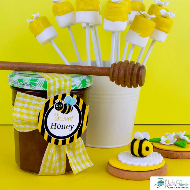 Bumble Bee Baby Shower Party Package