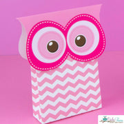 Pink Hoot Owl Baby Shower Party Package
