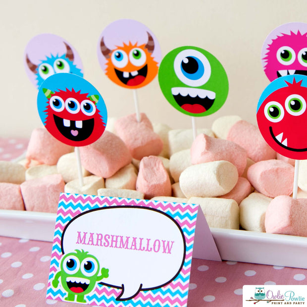 Monster Bash Baby Shower Party Package