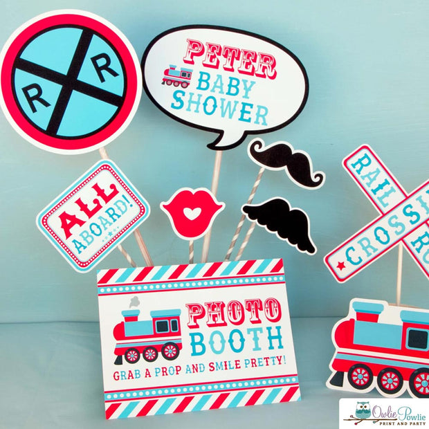 Choo Choo Train Baby Shower Party Package
