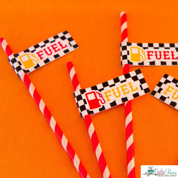 Race Car Baby Shower Party Package