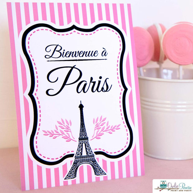 Paris Baby Shower Party Package