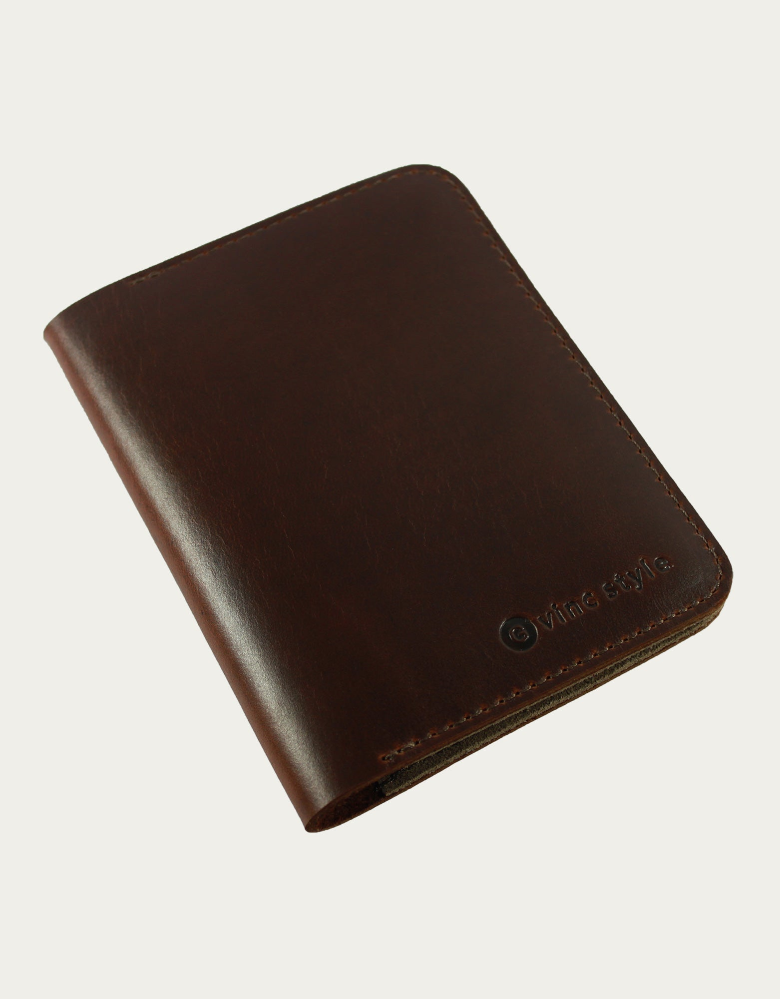 Torta Passport Holder - Dark Brown
