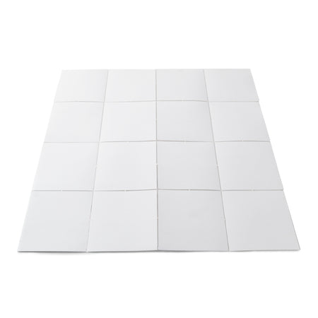 4 x 4 Fold-out Whiteboard Grid