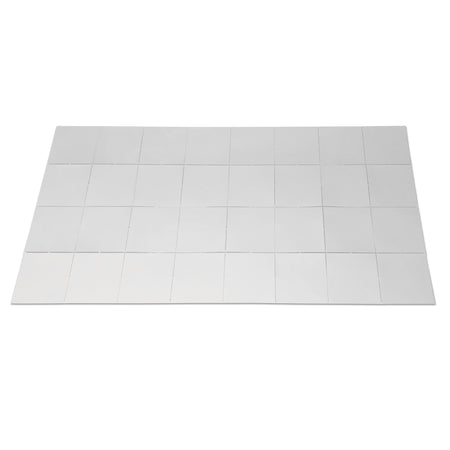 4 x 8 Fold-out Whiteboard Grid