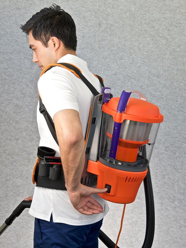 Advantage Turbo Bagless Back Pack Vacuum Cleaner