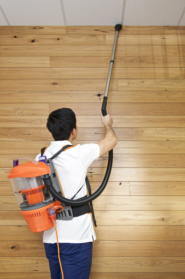 The dusting tool can reach ceiling and hard to reach corners