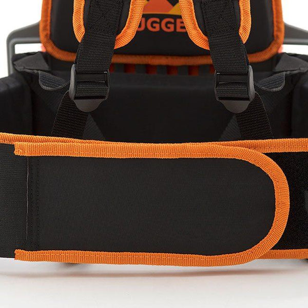 Close up view of the Advantage Replacement Padded Belt -  Rugged Industries Backpack Vacuum Cleaner