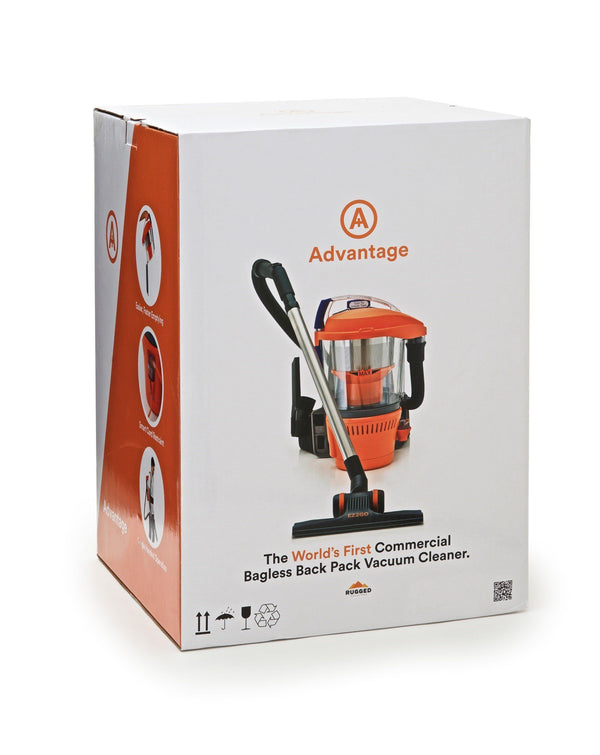 Advantage Ultimate Turbo Combo Vacuum product box on display