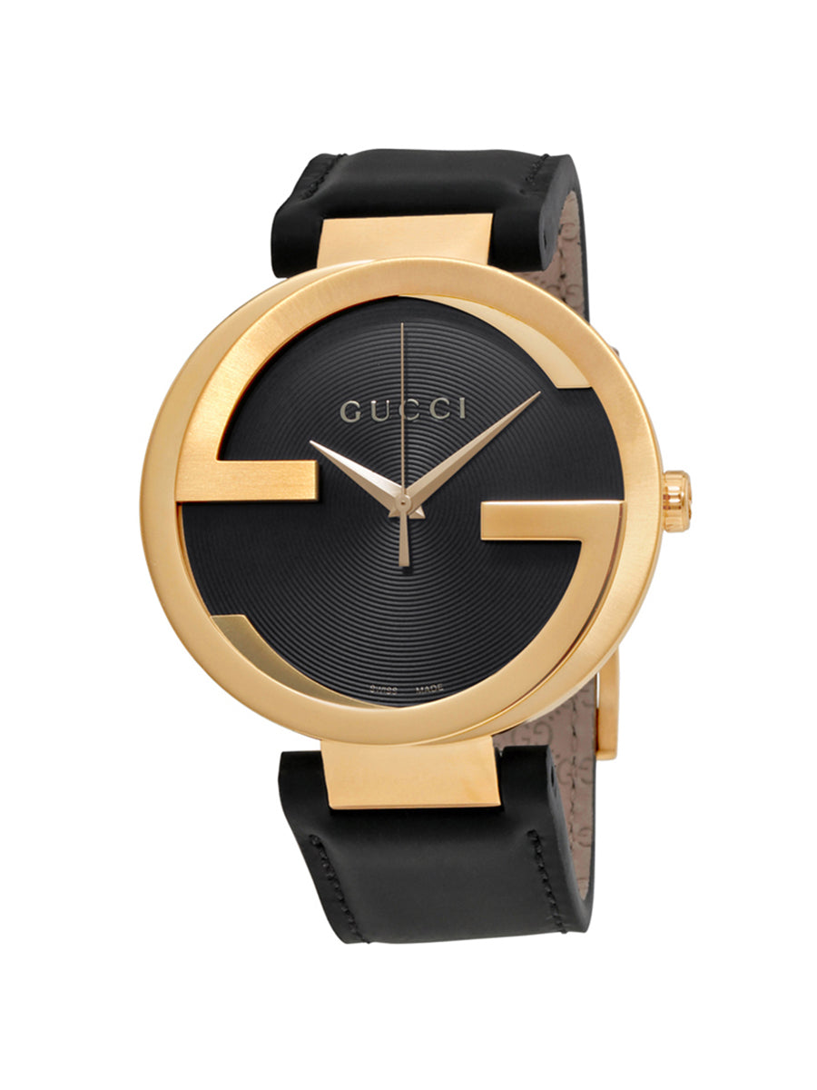 GUCCI Interlocking retro atmosphere men's quartz watch men's watch