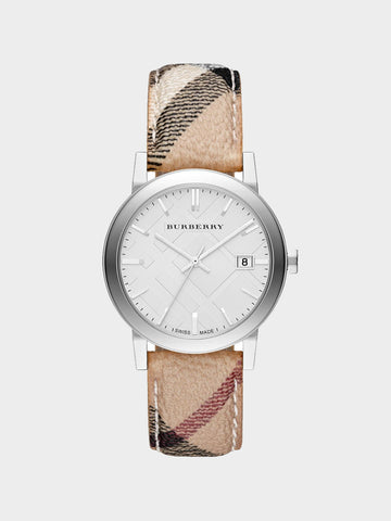 Burberry The City Haymarket Check Watch