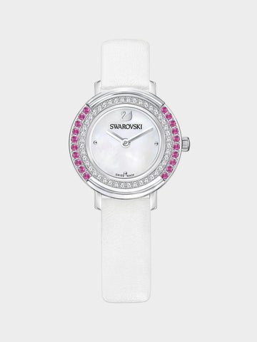 Women's Playful White Pearl Watch
