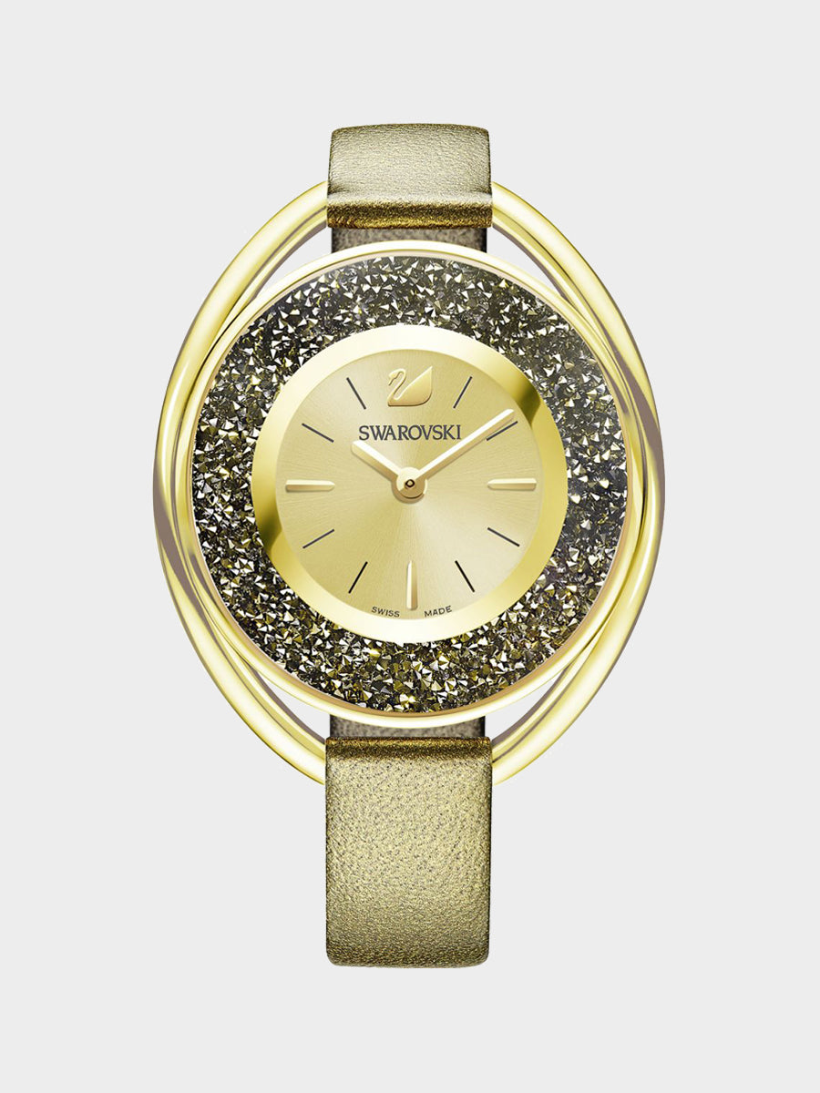 Women's Crystalline Golden Tone Watch