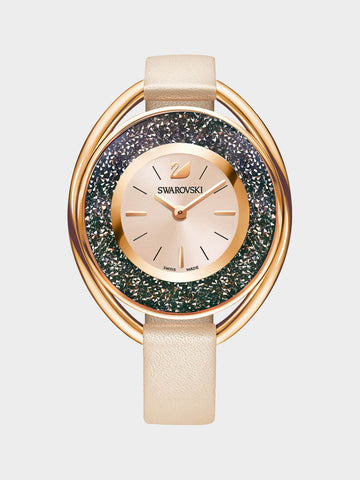 Women's Crystalline  Champagne Tone Watch