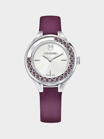 Women's Lovely Crystals Purple Watch