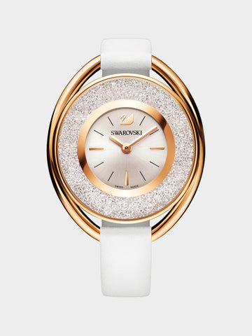 Women's Crystalline White Tone Watch