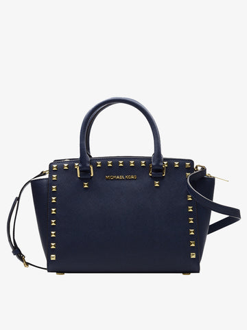 Women's Cortical Rivet Shoulder Bag