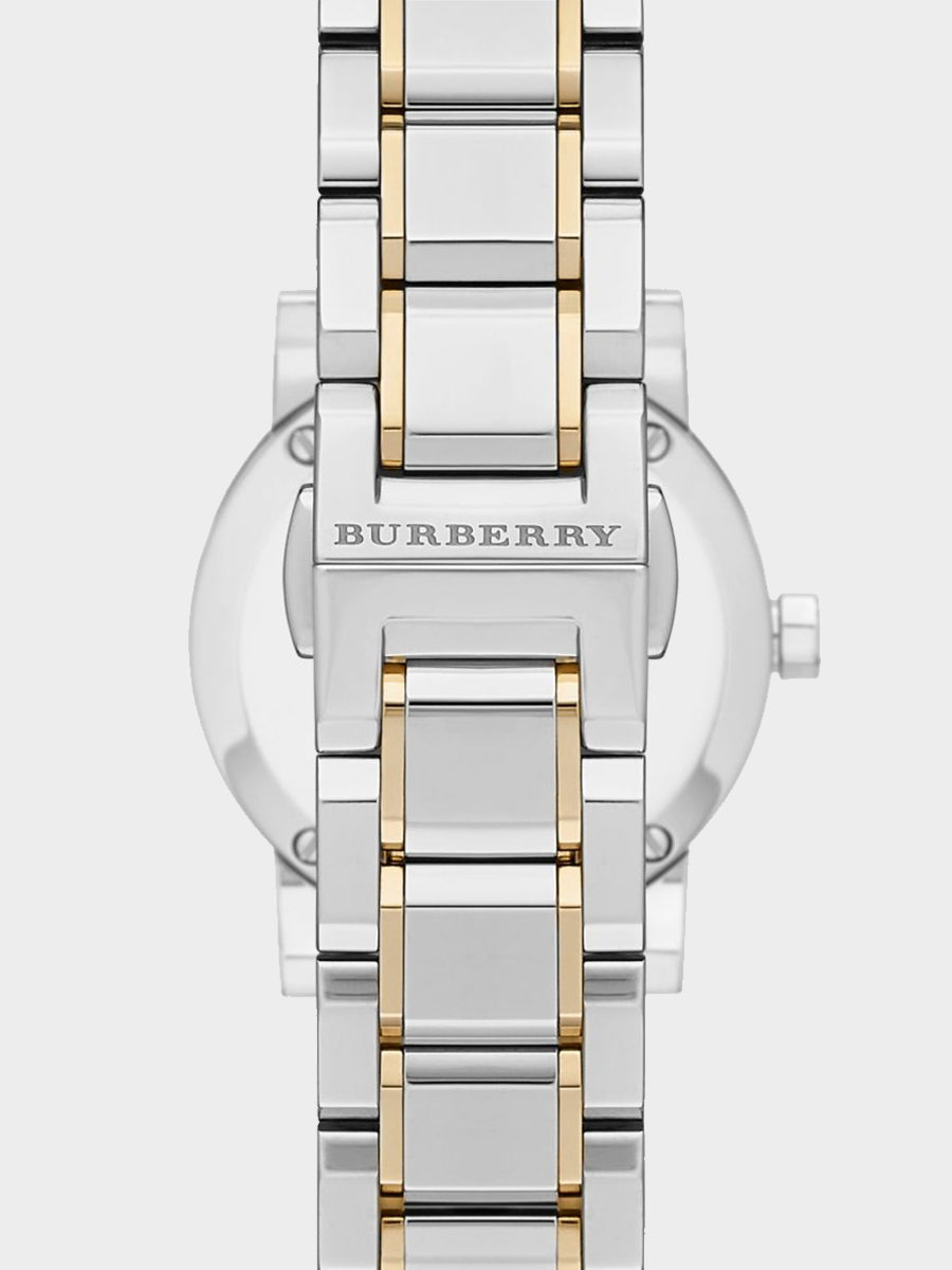 Burberry Silver Dial  Watch