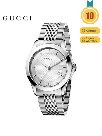 GUCCI Men's G-Timeless Series Simple Watch
