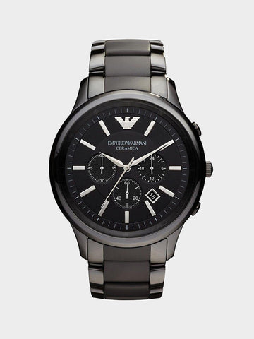 Emporio Armani Black Ceramic Watch