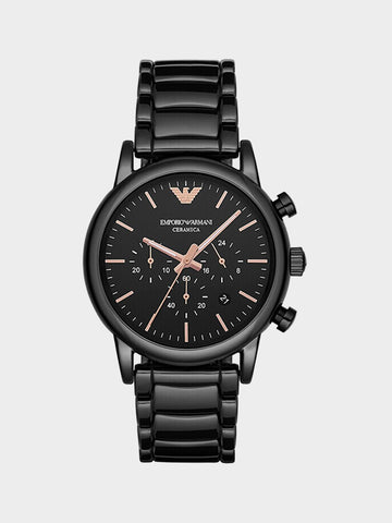 Emporio Armani Ceramic and Rose Watch