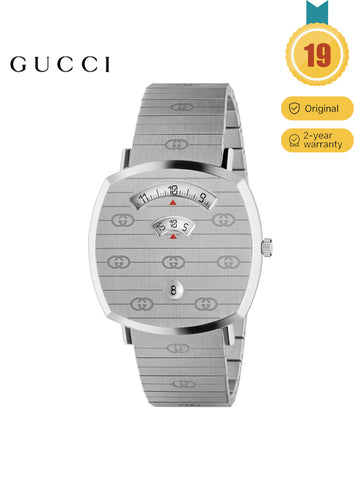 GUCCI Men's Grip Stainless Steel Cover Dial Men's Watch