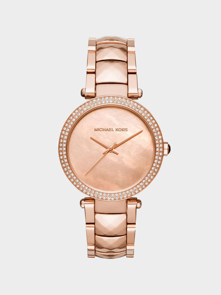 Women's Simple Dial Rose Gold  Watches