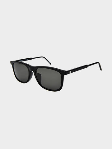 Men's  Trendy Rectangular Frame Driving Sunglasses