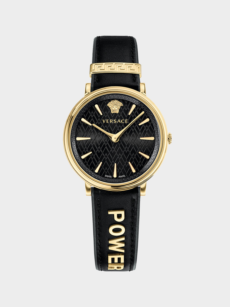 Women's Manifesto Leather Strap Watch