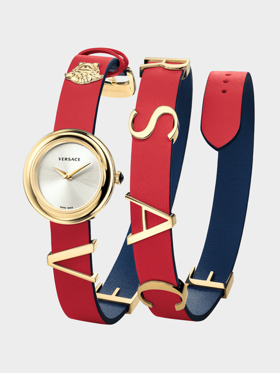Women's Multicoloured Strap Watch