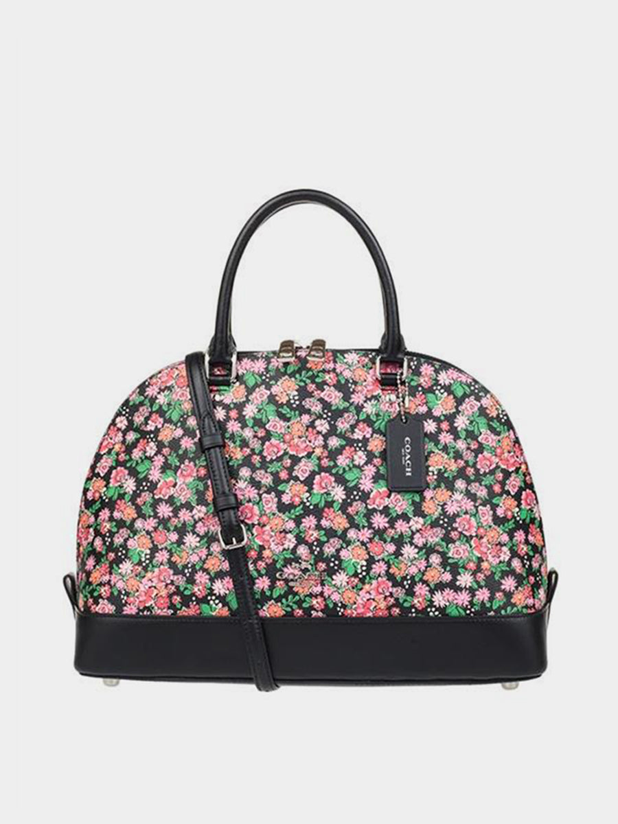 Women's PVC Flower Shell Package Bag