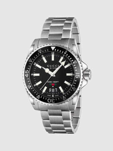 Men's Quartz  DIVE Water Resistant Rotatable Bezel Watch