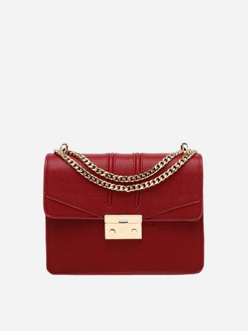 Women's Vintage Shoulder Bag Red