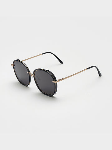 Gentle Monster Mirror Acetate Front Sunglasses