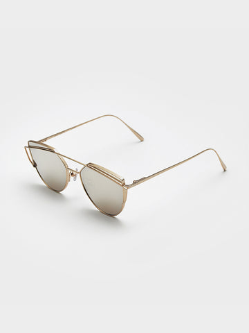 Gentle Monster Gold Lenses Sunglasses