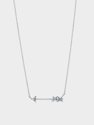 Women's Arrow Silver Pendant Necklace