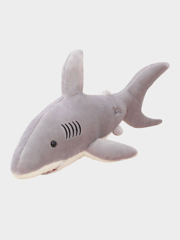 Soft Toy Cute Cartoon Shark Design Stylish Doll Plush Toy  Pink /Grey