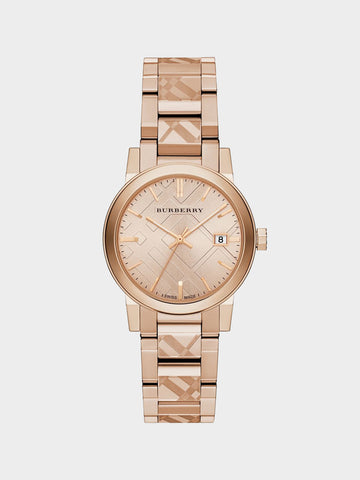 Burberry The City Rose Gold Watch