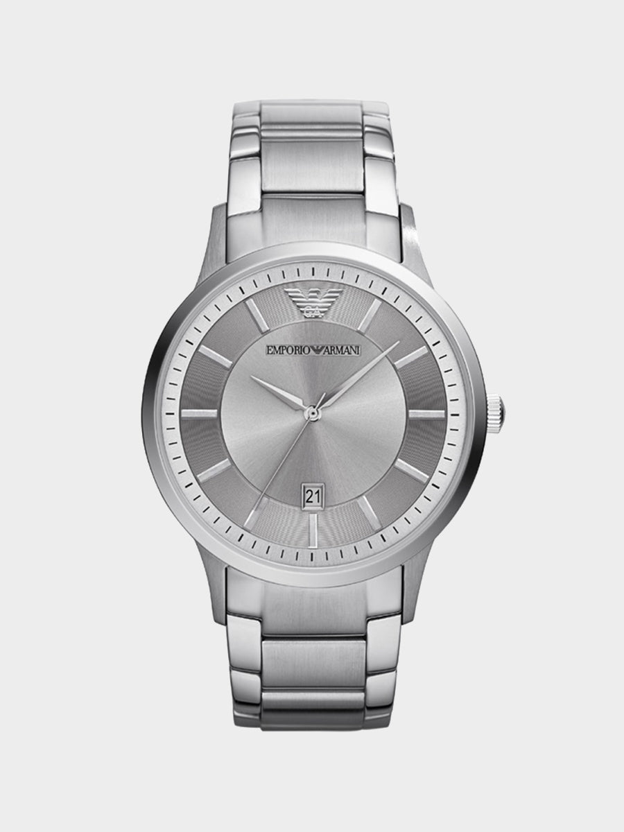 Emporio Armani Dress Silver Watch