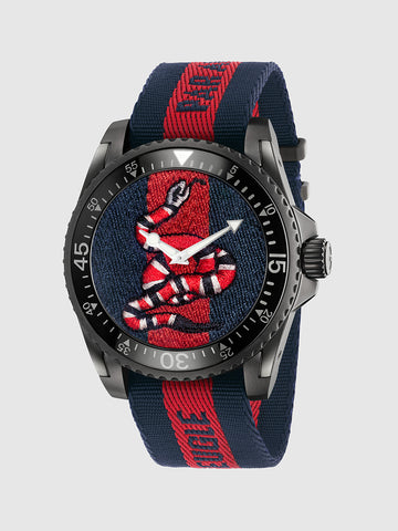 Men's Quartz Trendy Stylish Snake Watch