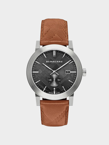 Burberry The City Brown Leather Watch