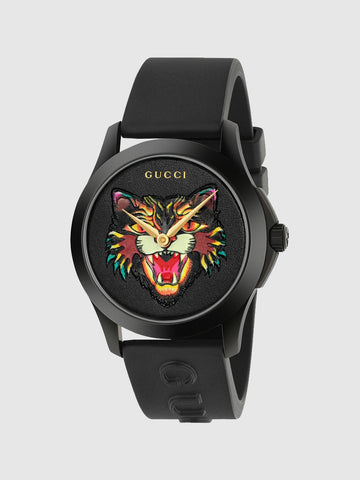 Men's Simple Stylish Cartoon Tiger Quartz Watch