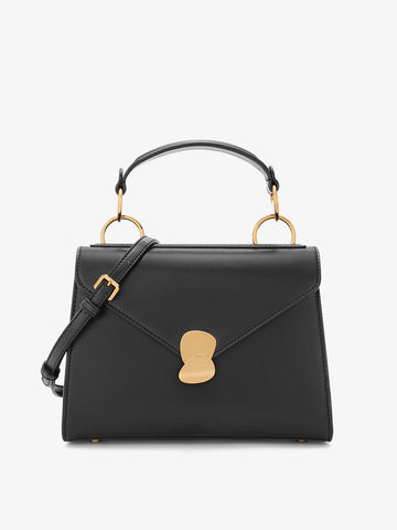 Women's Colorblock Shoulder Bag Black