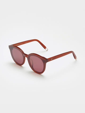 Gentle Monster Clear Red Front Sunglasses