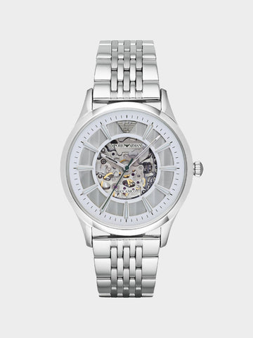 Emporio Armani Silver Stainless-Steel  Watch